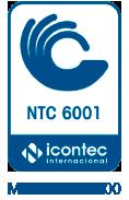 Certificación NTC 6001 MP-CER241700